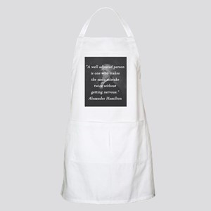 Hamilton - Well Adjusted Person Light Apron