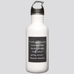 Hamilton - Well Adjusted Person Water Bottle