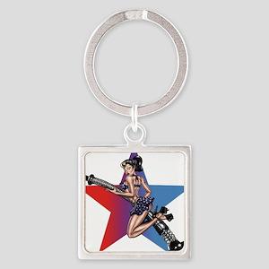 gap_girl_star Keychains