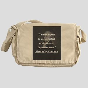 Hamilton - Perfect Work Messenger Bag