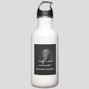 Hamilton - Learn to Think Water Bottle