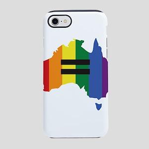 LGBT equality Australia iPhone 7 Tough Case