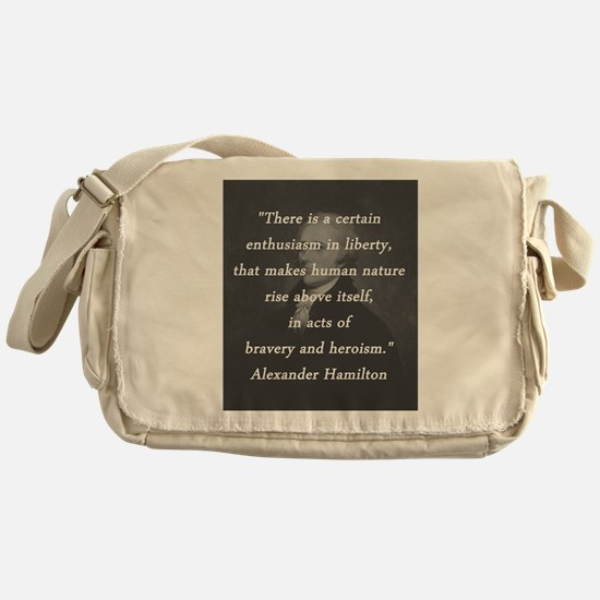 Hamilton - Certain Enthusiasm Messenger Bag