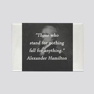 Hamilton - Stand for Nothing Magnets