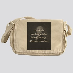 Hamilton - Stand for Nothing Messenger Bag