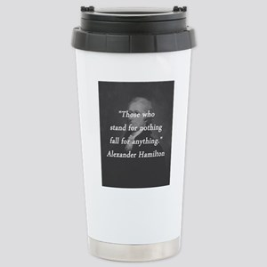 Hamilton - Stand for Nothing Mugs