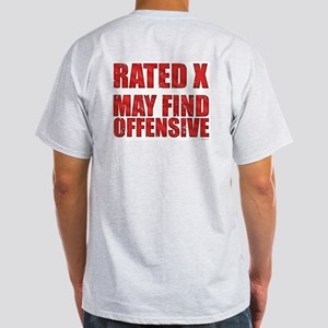 Rated X T-Shirt (Ash Grey)