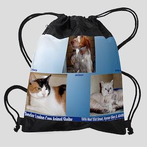 august copy Drawstring Bag