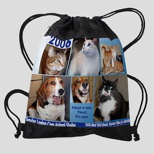 singlefront copy Drawstring Bag