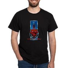 SuperCreep Logo 4 Dark T-Shirt