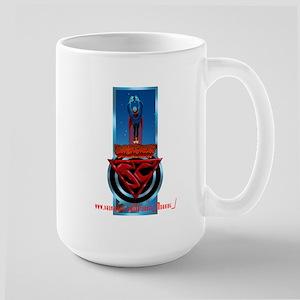 SuperCreep Logo 4 Large Mug