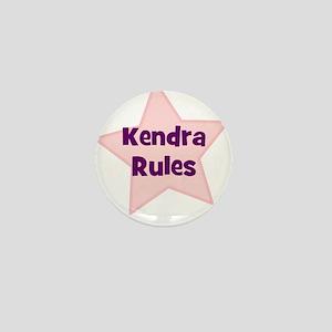 Kendra Rules Mini Button