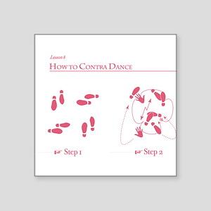 Contra Dance Lesson Sticker