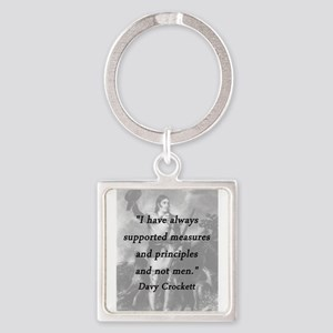 Crockett - Measures and Principles Keychains