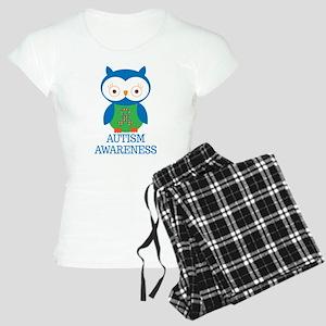 Autism Awareness Owl Women's Light Pajamas