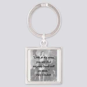 Crockett - Look at My Arms Keychains