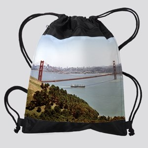 under_the_bridge (12) Drawstring Bag