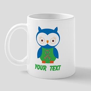 Personalized Autism Owl Mug