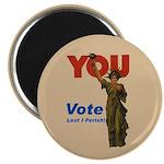 Vote. Lest I Perish. Magnet