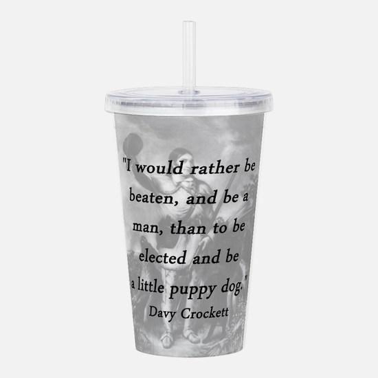 Crockett - Little Puppy Dog Acrylic Double-wall Tu