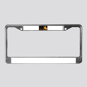 Abyssinian Orginal License Plate Frame