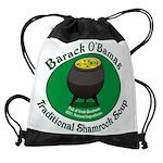 obamasoup_10x8.png Drawstring Bag