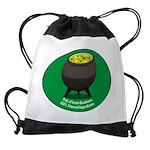2-obamasoup_dark.png Drawstring Bag