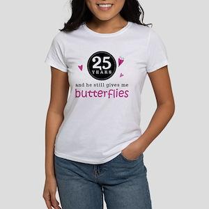 25th Anniversary Butterflies Women's T-Shirt