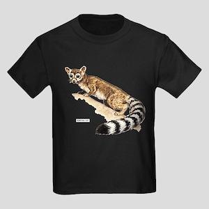 Ringtail Wild Cat Kids Dark T-Shirt