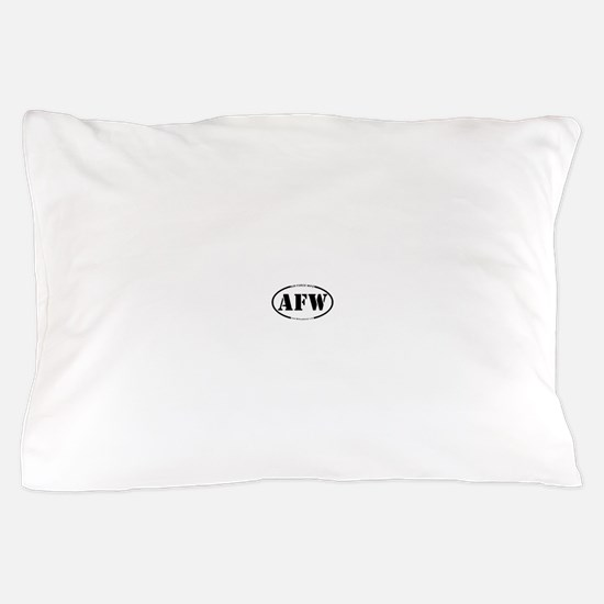 Air Force Wife (Oval) Pillow Case