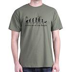 Evlolution Of The Beagle -Dark T-Shirt $5 Off