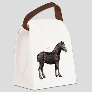 Percheron Horse Canvas Lunch Bag