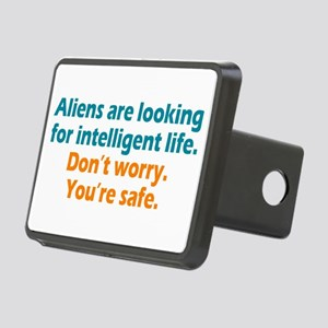Aliens Looking Rectangular Hitch Cover