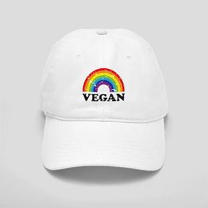 Vegan Rainbow Baseball Cap