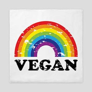 Vegan Rainbow Queen Duvet
