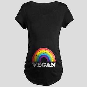 Vegan Rainbow Maternity T-Shirt
