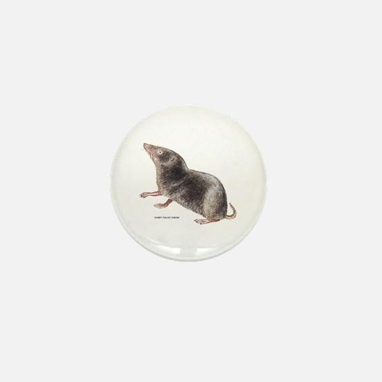 Short-Tailed Shrew Mini Button