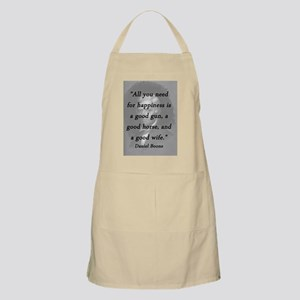 Boone - Happiness Light Apron