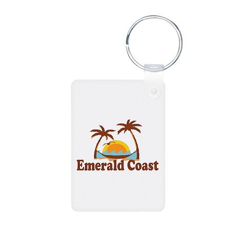 Emerald Coast - Palm Tree Design. Aluminum Photo K