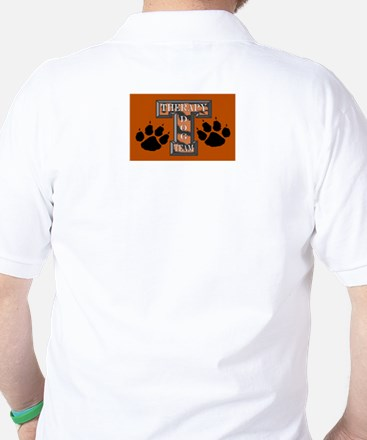 Therapy Dog Team Golf Shirt