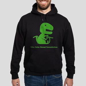 T-Rex Hates Hoodie (dark)