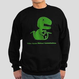 T-Rex Hates Sweatshirt (dark)