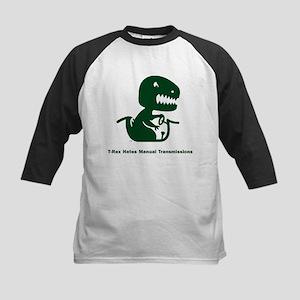 T-Rex Hates Kids Baseball Jersey