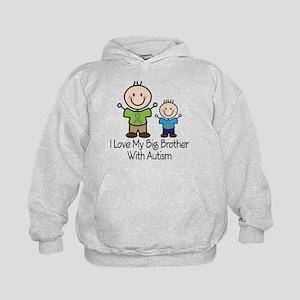 Autism Big Brother Kids Hoodie