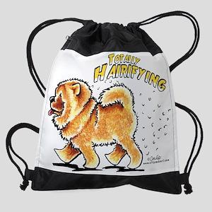 Chow Chow Hairifying Drawstring Bag