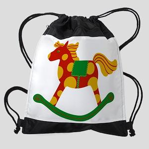 Rocking Horse Drawstring Bag