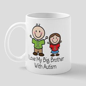 Autism I Love Big Brother Mug