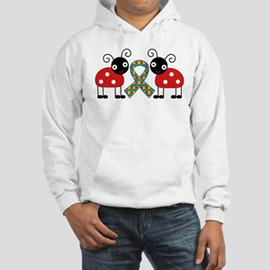 Cute Ladybug Autism Hooded Sweatshirt