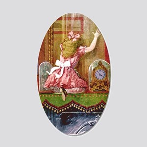 Alice Through the Looking Glass 20x12 Oval Wall De