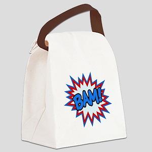 Hero Bam Bursts Canvas Lunch Bag